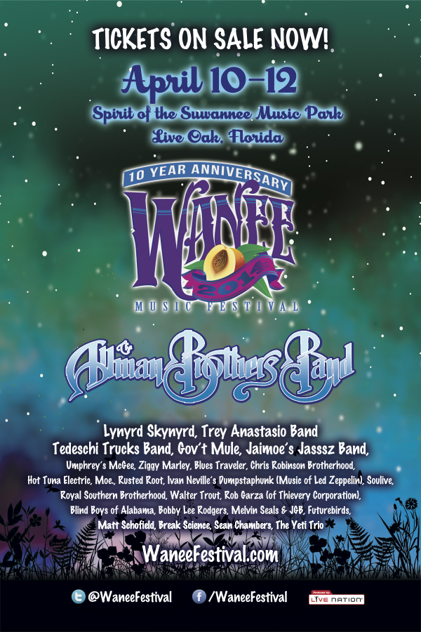Wanee 2014 Line Up
