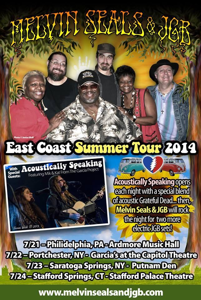 JGB Summer East Coast Tour