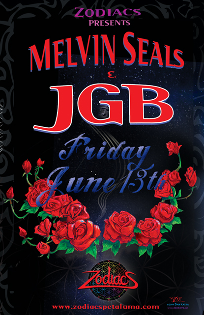 Melvin Seals and JGB at Zodiacs