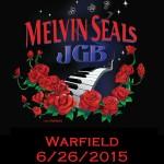 The Warfield 6/26/2015