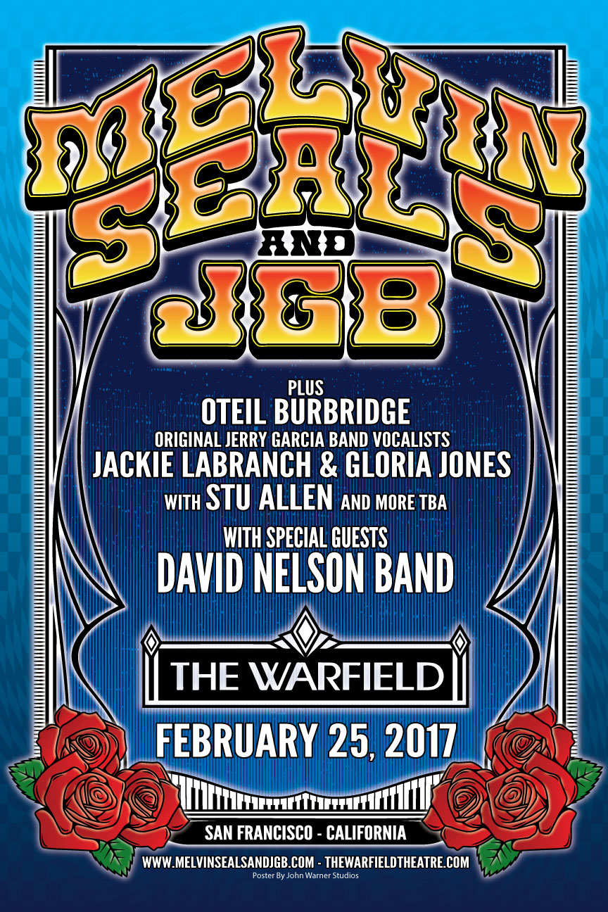 JGB at the Warfield 2016