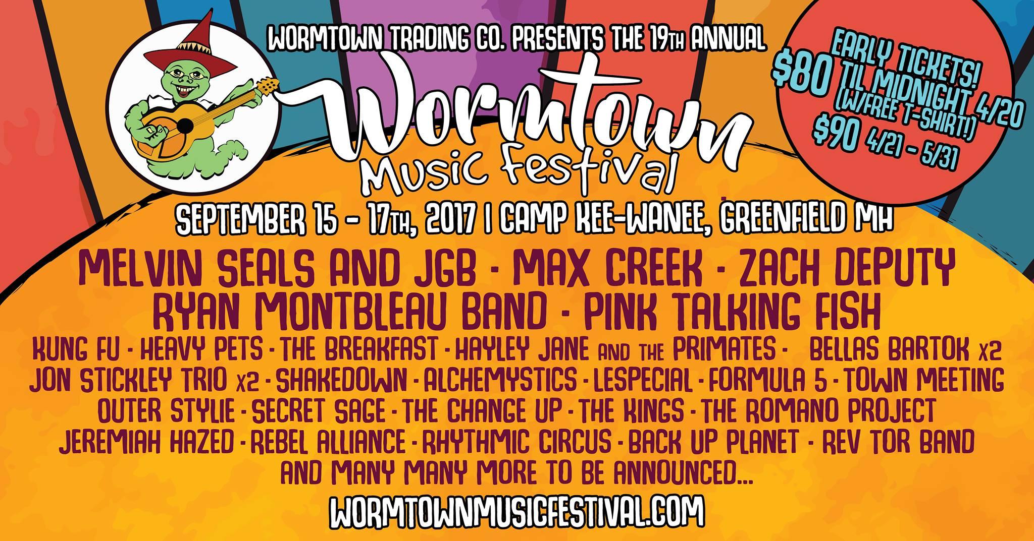 Wormtown 2017